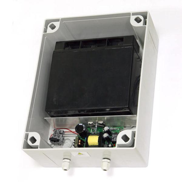 МикроКомСервис РЕЗЕРВ - 12/5У18(DIN), Источник вторичного электропитания резервированный импульсный
