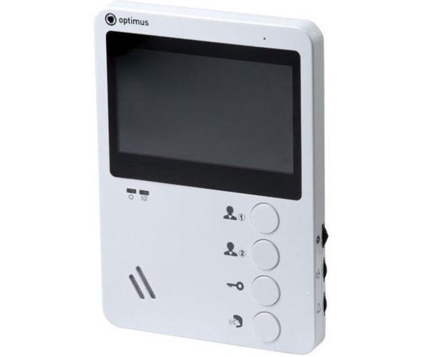 Optimus VM-E4 белый цветной видеодомофон
