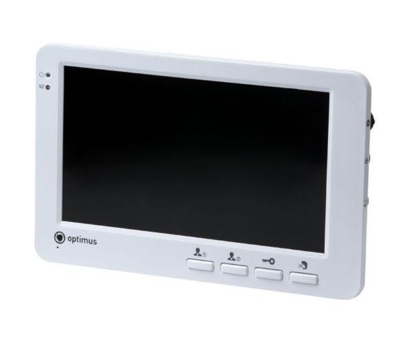 Optimus VM-E7 белый цветной видеодомофон