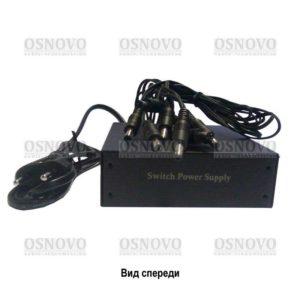 OSNOVO PS8-220/12В4А, Блок питания, напряжение вх.220В, 8 выходов по 12В