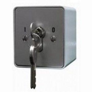 Переключатель с ключом Keyswitch, накладной, 2 группы контактов НР/НЗ, высокий уровень секретности Smartec ST-ES120SM