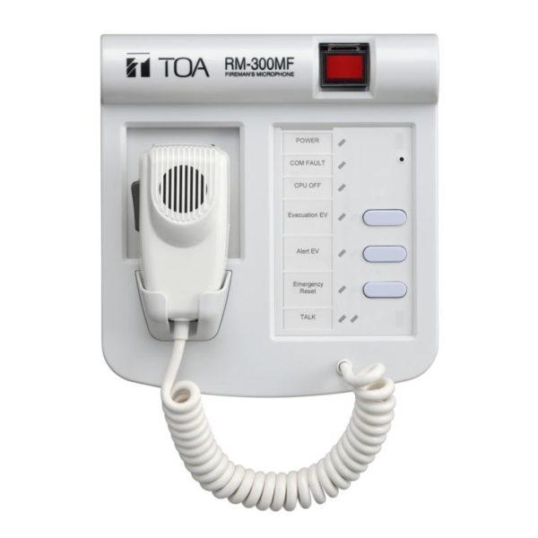 Пожарная микрофонная панель RM-300MF (TOA)
