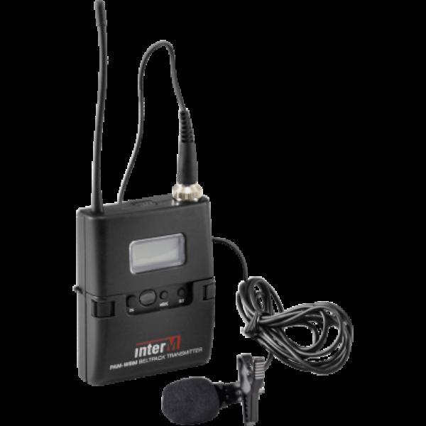 Радиопередатчик с петличным микрофоном PAM-WBM комплект