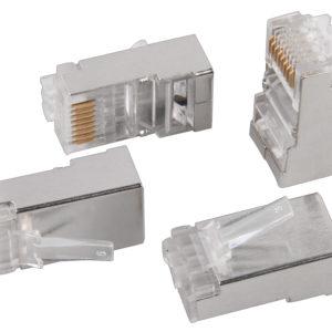 Разъём RJ-45 FTP для кабеля кат.6 ITK CS3-1C6F