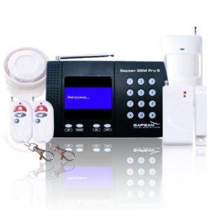 Sapsan GSM Pro 5T — беспроводная система охранной сигнализации
