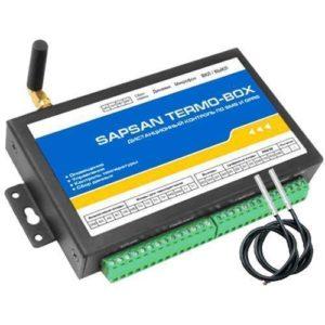 Sapsan TERMO-BOX — проводная охранная GSM-сигнализация с функцией контроля температуры