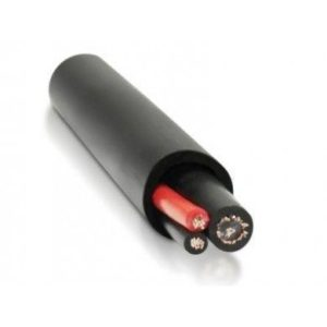 Satvision КВК-П 2х0.5мм (12V) черный - Комбинированный кабель