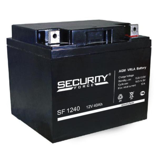 Security Force SF 1240 (12V / 40.0Ah), Аккумуляторная батарея
