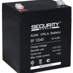 Security Force SF12045 — аккумуляторная батарея