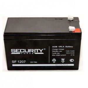 Security Force SF1207 — аккумуляторная батарея