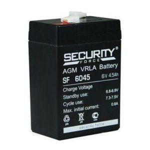 Security Force SF6045 — аккумуляторная батарея