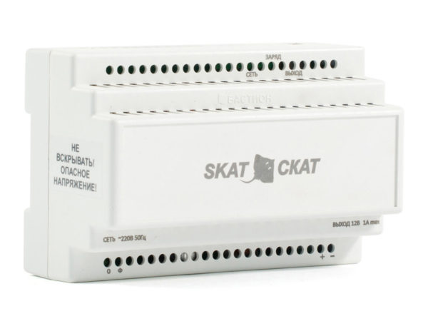 SKAT-12DC-1.0 Li-ion, Малогабаритный ИБП со встроенной Li-Ion АКБ