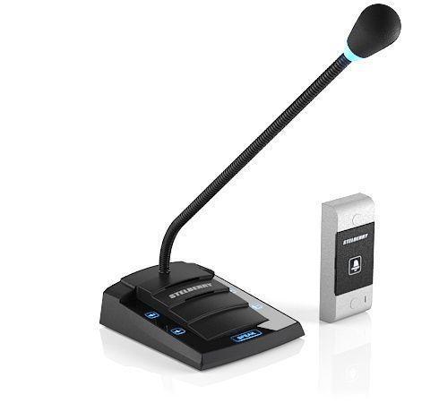 """Stelberry S-425 — дуплексное переговорное устройство """"клиент-кассир"""""""