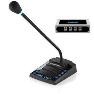 Stelberry S-740 — 4-канальное селекторное переговорное устройство