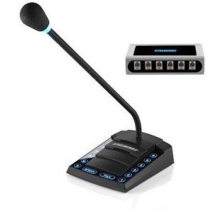 Stelberry S-760 — 6-канальное селекторное переговорное устройство