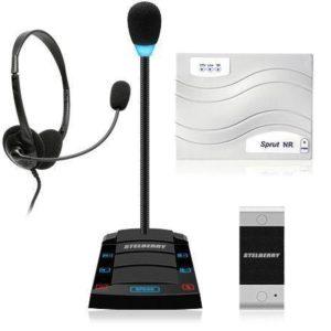 Stelberry SX-412 — комплекс цифрового дуплексного переговорного устройства