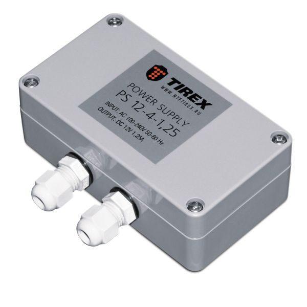 ТИРЭКС БП 12-4-1.25A (DC), Блок питания наружного применения