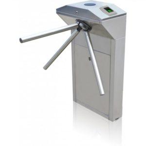 Трехштанговый турникет трипод электромеханический (электронная проходная), нержавеющая сталь, индикаторы прохода Smartec ST-TS101EF