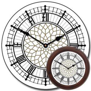Уличные башенные фасадные часы Венера-1200-У