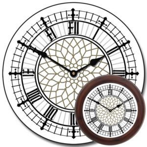 Уличные башенные фасадные часы Венера-1500-У