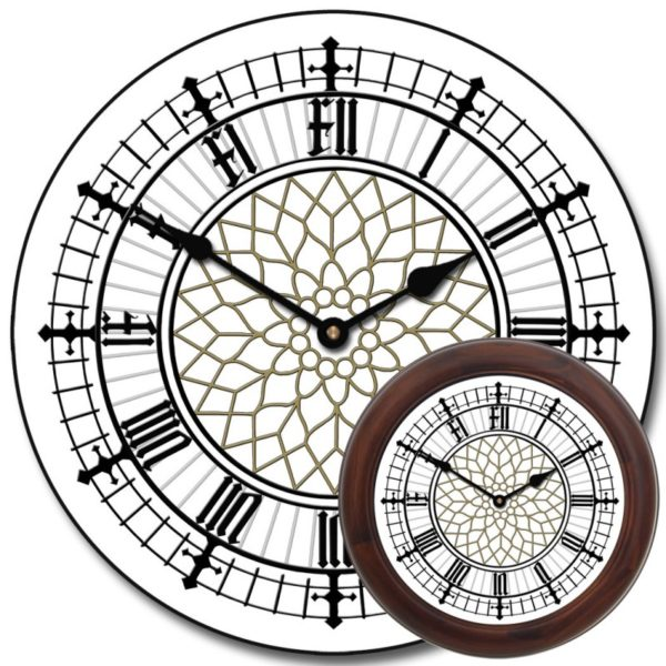 Уличные башенные фасадные часы Венера-1800-У