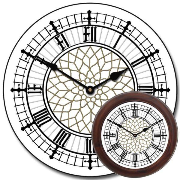 Уличные башенные фасадные часы Венера-800-У