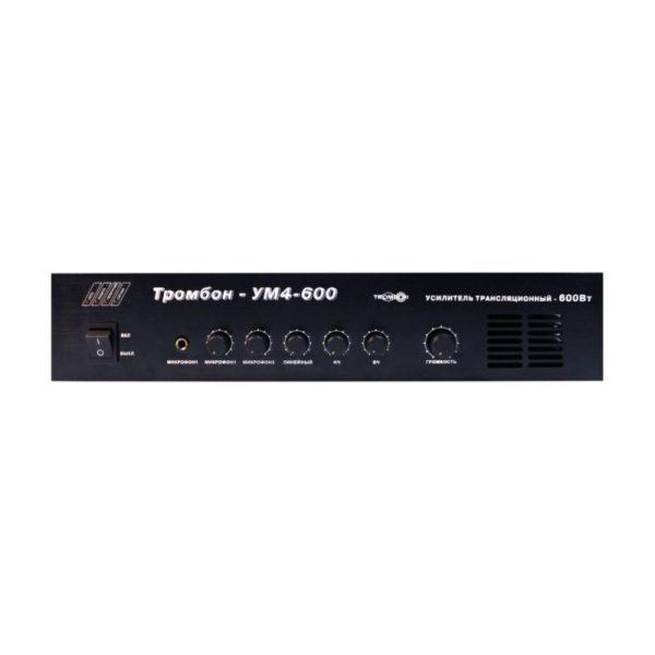Усилитель мощности, 600 Вт Тромбон-УМ4-600