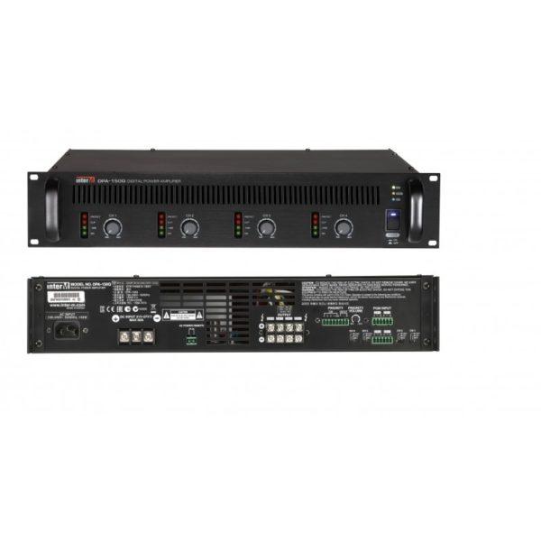 Усилитель мощности цифровой, 4х150 Вт DPA-150Q