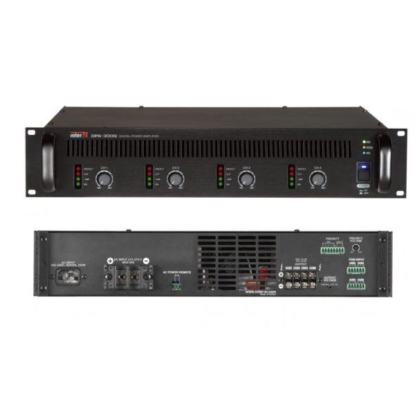 Усилитель мощности цифровой, 4х300 Вт DPA-300Q
