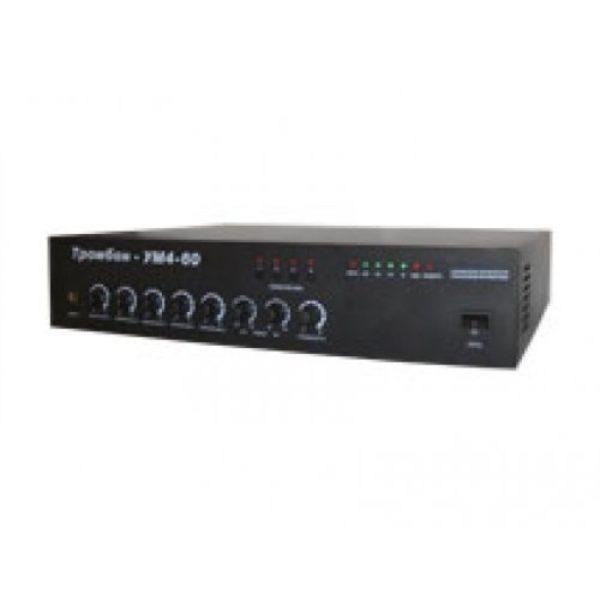 Усилитель мощности трансляционный Тромбон-УМ4-60