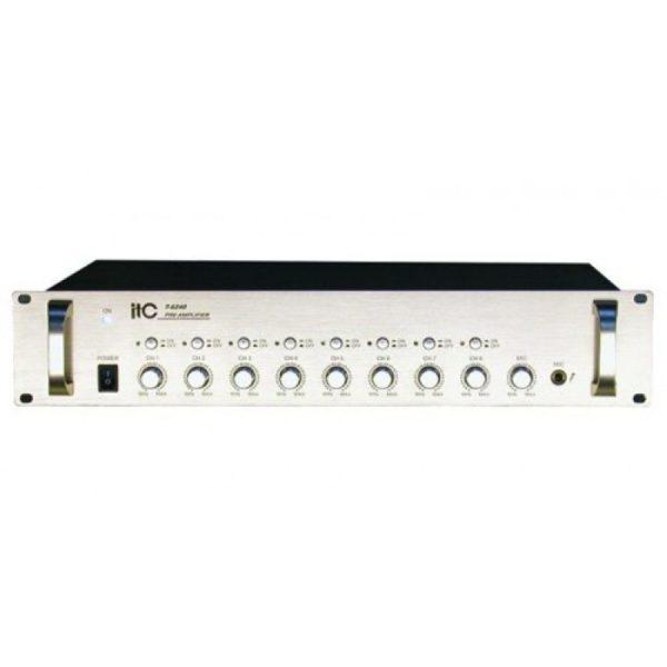 Усилитель предварительный 8-ми канальный T-6240