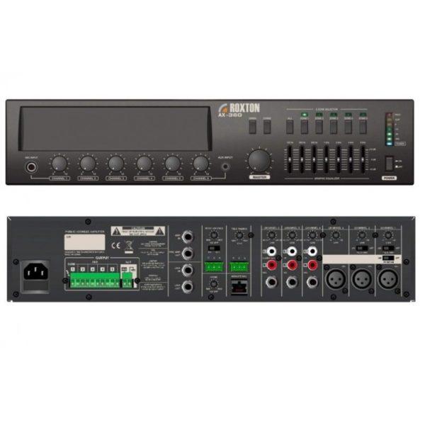 Усилитель трансляционный, 480 Вт AX-480