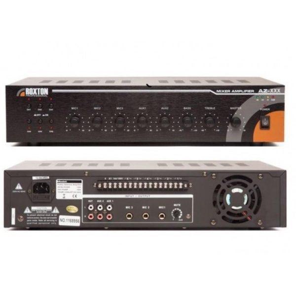 Усилитель трансляционный зональный, 120 Вт AZ-120