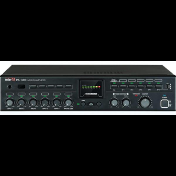 Усилитель трансляционный зональный PA-480