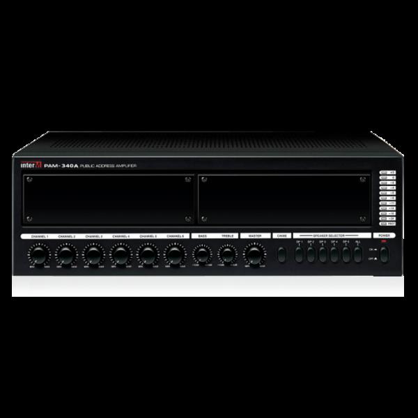 Усилитель трансляционный зональный с голосовым модулем PAM-340A+VF