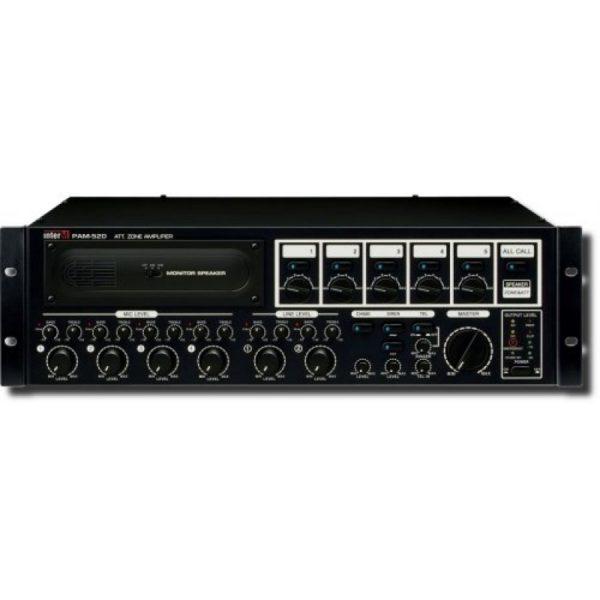 Усилитель трансляционный зональный с голосовым модулем PAM-510