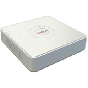 8-ми канальный гибридный HD-TVI регистратор для аналоговых, HD-TVI, AHD и CVI камер + 2 IP-канала@960p HiWatch DS-H108G