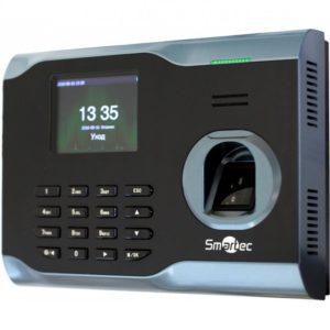 Биометрический терминал учета рабочего времени Smartec ST-FT161EM сетевой терминал учета рабочего времени