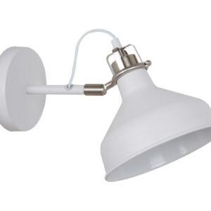 Camelion WML-425 С71 Белый + хром (Светильник настенный Amsterdam,1х E27, 40Вт, 230В, металл)