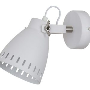 Camelion WML-428-1 С01 белый (Светильник настенный New York,1х E27, 40Вт, 230В, металл)