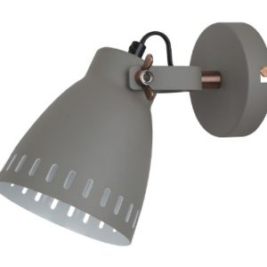 Camelion WML-428-1 С08 серый (Светильник настенный New York,1х E27, 40Вт, 230В, металл)