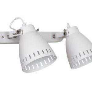 Camelion WML-428-2 С01 белый (Светильник настенный New York,2х E27, 40Вт, 230В, металл)