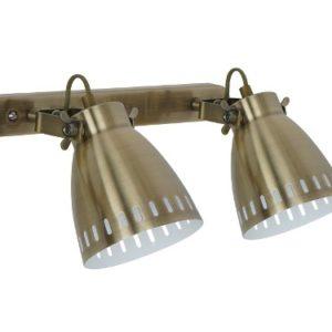 Camelion WML-428-2 С59 старинная медь (Светильник настенный New York,2х E27, 40Вт, 230В, металл)