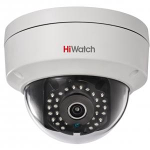 DS-I122 (12 mm) 1,3Мп уличная купольная мини IP-камера ИК-подсветкой до 15м HiWatch