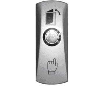 Кнопка металлическая, накладная, НР контакты, размер: 83х32х25 мм Smartec ST-EX010SM кнопка