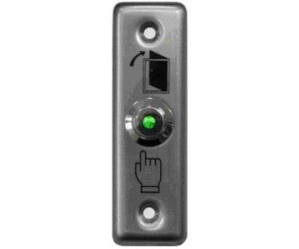 Кнопка металлическая, врезная, НР контакты Smartec ST-EX010 кнопка