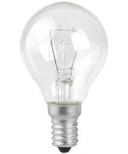 P45-40W-E27/ДШ 230-40 Е 2 Лампа ЭРА шарик 40Вт 230В E27 прозр. в цветной гофре. ДШ 230-40 Е 27