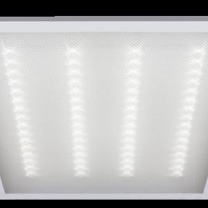 Светильник (LED) 36Вт 4000K 2900Лм встр/накл призм. 595х595х19мм Jazzway