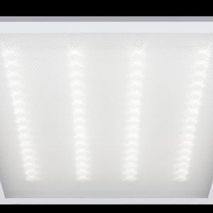 Светильник (LED) 36Вт 6500K 2900Лм встр/накл призм. 595х595х19мм Jazzway