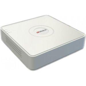 4-канальный гибридный HD-TVI регистратор HiWatch DS-H204Q 4 канальный CVI, TVI, AHD, IP видеорегистратор